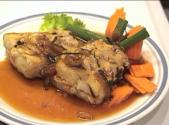 Thai Baked Fish With Ginger Sauce